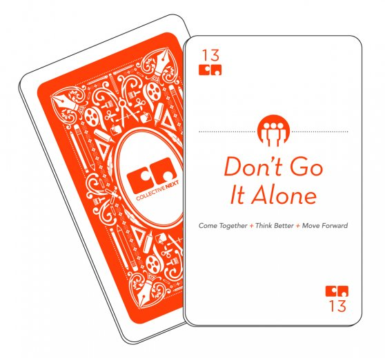 Don't Go It Alone CN card