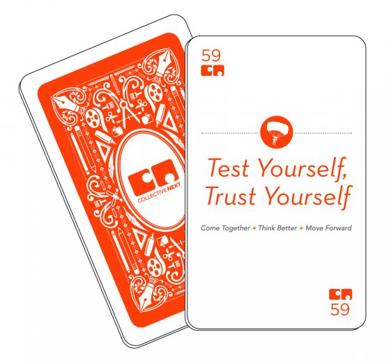 Test Yourself, Trust Yourself CN card