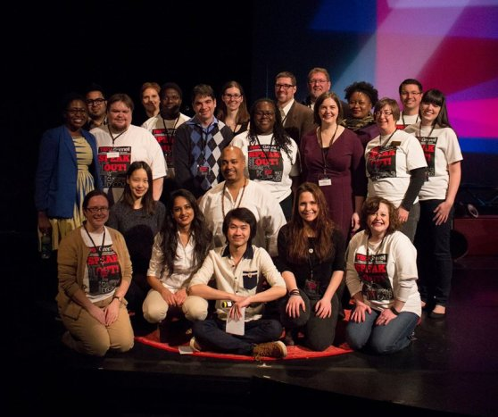 TEDxGrinnell team, photo by Laurie Polisky