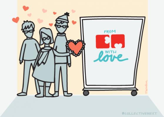 CN Valentine's Day, art by Tricia Walker