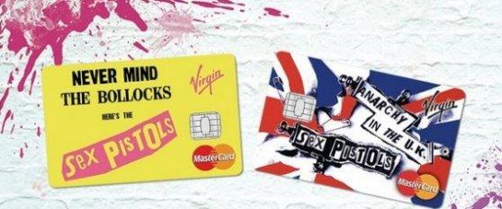 Sex Pistols credit cards