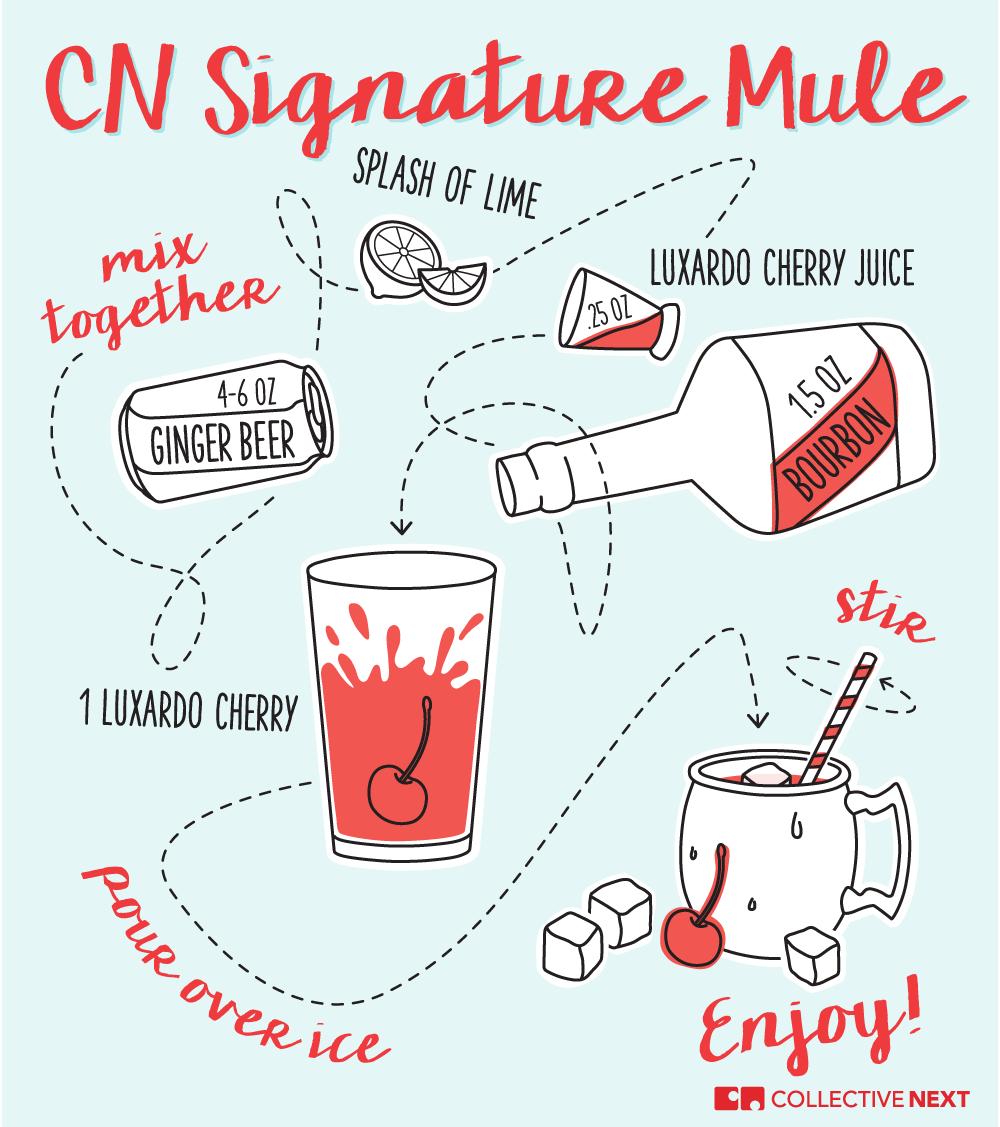Illustrated Recipe - CN Signature Mule