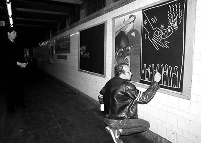 scribe bag gymboree keith haring graphic facilitation line drawing collective next boston digital analog world