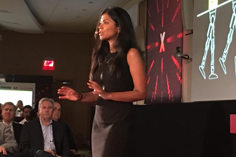 Suchi Saria TEDxBoston TEDx Boston TED Talk Graphic Facilitation Scribing Collective Next