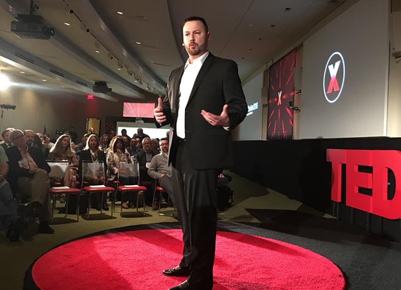 Ryan Adams TEDxBoston TEDx Boston TED Talk Graphic Facilitation Scribing Collective Next
