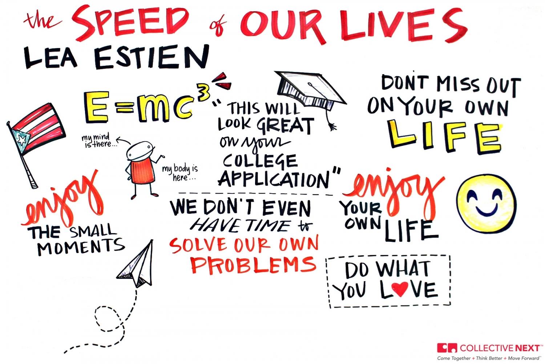 Collective Next Lea Estien TED TEDx TEDxSpringfield Boston scribing scribe graphic facilitation facilitator