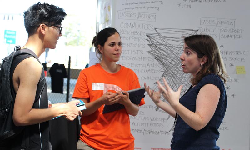 Collective Creativity Collaboration Facilitation Design Museum Boston design thinking hackathon charette