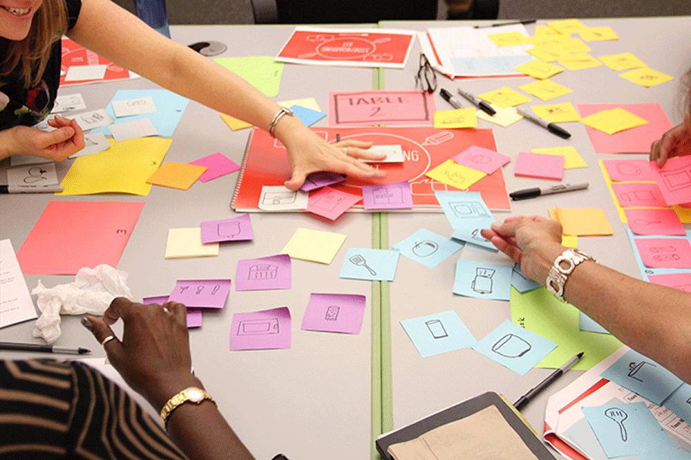 storyboarding storyboard customer journey stories storytelling organizational facilitation facilitator workshop